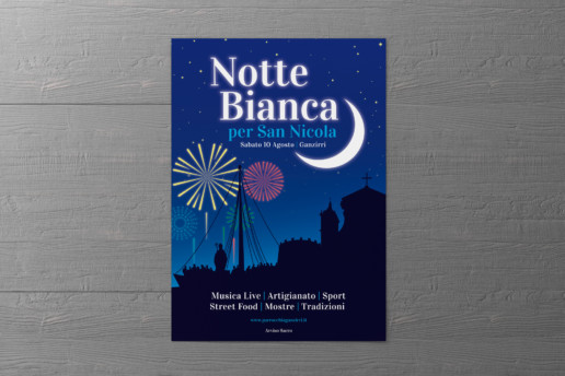 Mockup Locandina Notte Bianca per San Nicola 2019